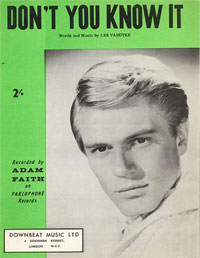Don't You Know It - Adam Faith Sheet Music (PDF)