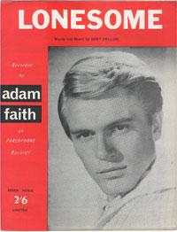 Lonesome - Adam Faith Sheet Music (PDF)