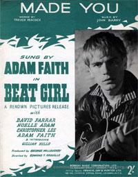 Made You - Adam Faith Sheet Music (PDF)