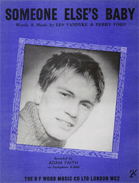 Someone Elses Baby - Adam Faith Sheet Music (PDF)