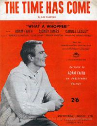 Time Has Come - Adam Faith Sheet Music (PDF)