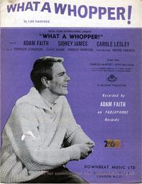 What A Whopper - Adam Faith Sheet Music (PDF)